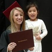 Ashley with Diploma