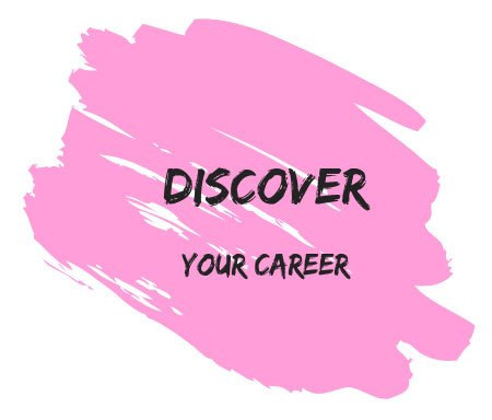Discover Your Career Stylized Text